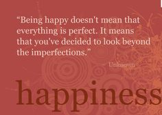 Quote about happyness