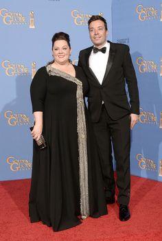 Jimmy Fallon - Press Room at the Golden Globe Awards