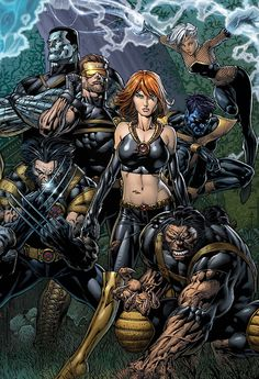 X-Men | Artist: David Finch