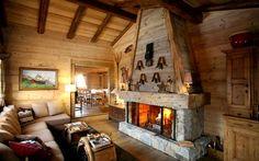 haut savoi, cozi log, chalet en, log cabin, en haut, ide montagna, cabin decor
