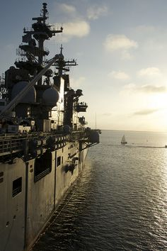 USS Essex is moored at Naval Base San Diego. by Official U.S. Navy Imagery