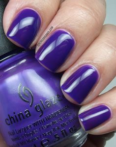 Colores de Carol: China Glaze - Creative Fantasy
