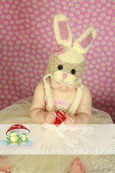 CROCHET PATTERN Sock Bunny Hat  Sizes by speckledfrogcrochet, $4.99