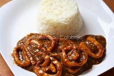 Calamares en salsa americana. Receta - Mercado Calabajío