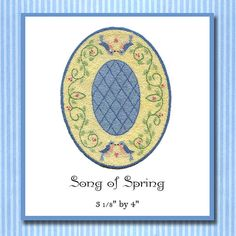 Hey, I found this really awesome Etsy listing at https://www.etsy.com/listing/84673060/song-of-spring-miniature-knotwork-kit