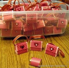cute tiny purses - perfect for Valentine's Day
