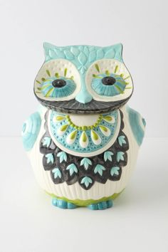 I just love Owl Cookie Jars!!!