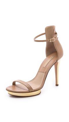 Gorgeous nude heels.