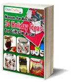 34 Holiday Ideas for Gifts in a Jar #eBook