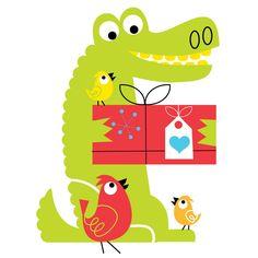 Alligator Graphic