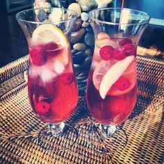 The best Sangria recipe ever!