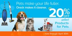 20% off select pet products
