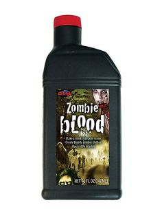 PINT OF ZOMBIE BLOOD.  $7.99
