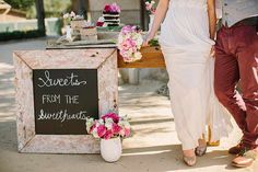 Cute idea for a wedd