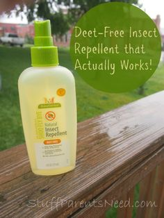 Finally! A natural insect repellent that actually works!