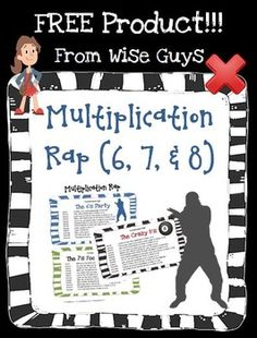 Math multiply and divide on pinterest multiplication for 11 times table rap
