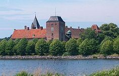 Aalholm, also Aalholm Castle (Danish: Aalholm Slot), is a castle and country estate in Nysted in the municipality of Guldborgsund, on the south coast of the island of Lolland, Denmark. It is the oldest castle on the island, first mentioned in the 1329.
