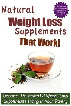 Weight Loss Supplement - Proven weight loss supplements include some meal replacement bars and shakes, as well as fiber and green tea extract.