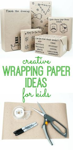 Make wrapping paper