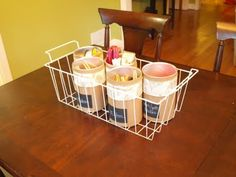 Formula can craft organizer project
