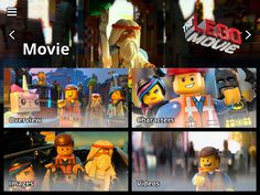 The LEGO Movie Experience App by Warner Bros. Lego, Kids Game Apps.