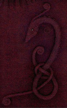 Dragon #knitting #handmade #diy #inspiration