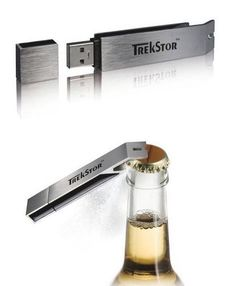 Bottle Opener USB Flash Drive #gadgets This is a great idea for the guys over at Brew Trip @BrewTrip