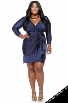 Joanne Borgella Plus Size Dress Collection- The Seduction Dress