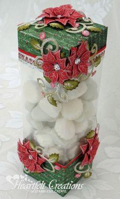 Heartfelt Creations   Festive Christmas Gift Box