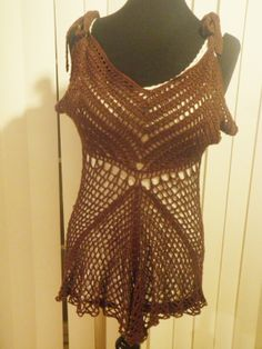 Crochet tank top festival clothing womens tops by CrochetByMel, $90.00 #crochettanktop #madetoorder #festivalwear
