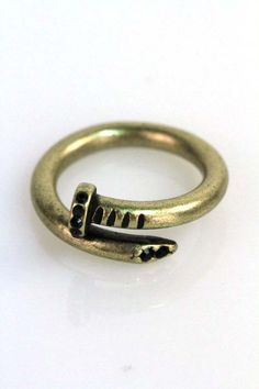 Bit of Bling Nail Ring from Ava Adorn