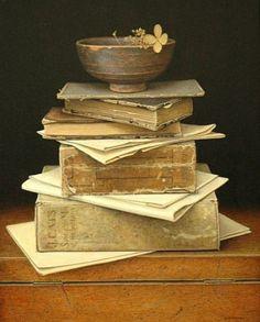stilllifequickheart:  Aad Hofman,   Books, 2011