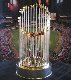 2011 World Series Trophy