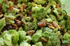 Broccoli, Bacon and Grape Salad