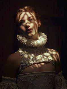 Elena Bartels by Baud Postma forVogue.it