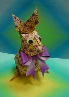 Origami Maniacs: Origami Easter Rabbit