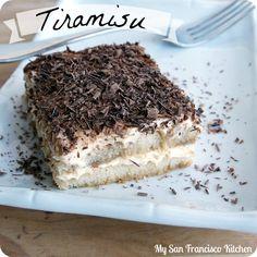 The most heavenly Tiramisu!  #dessert #chocolate #Italian #recipes #baking