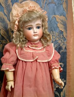 """Perfect Rare 19.5"""" Kestner Doll XII Closed Mouth Antique German Bebe from kathylibratysantiques on Ruby Lane"""