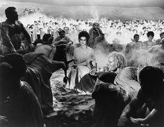 1969    Capucine (center) plays Trifena in Federico Fellini's 1969 film .    Image by John Springer Collection