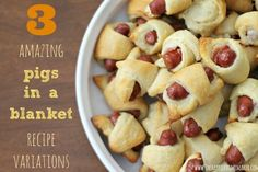 3 pigs in a blanket recipes