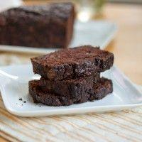 chocolate bourbon zucchini bread!