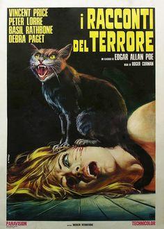Roger Corman a la italiana: póster de Destinos Fatales (Tales of Terror, 1962)