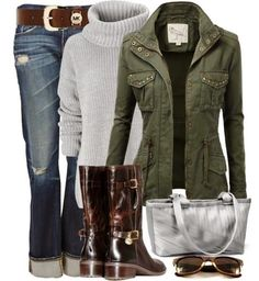 Winter fashion trend with slouchy sweater and jacket sweater, chic outfits, boot, fashion, style, jackets, fall outfits, winter outfits, casual outfits