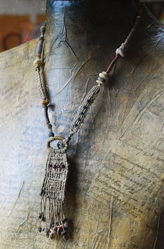 reserved  a necklace phylactery by infinitystop on Etsy, €67.00