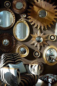 This is soooo me!! - designer Eileen Kathryn Boyd (via Traditional Home)