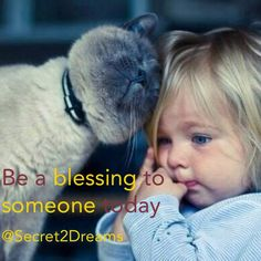 Be a blessing to someone today #positive #quote
