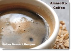 Warm up this weekend with some amaretto coffee ~ Lisa