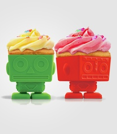 Robot Cupcake Holders