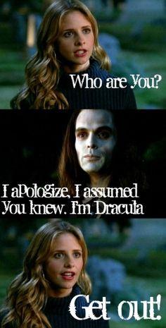 Season 5 episode 1:Buffy Vs. Dracula.