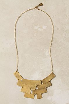 necklace fashion, statement necklaces, anthropologie jewelry, style, accessori, tecton necklac, jewelri, gold jewelry, happy campers